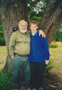 Stuart mit Bill Mollison.