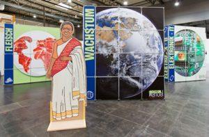 Ausstellung KonsumWandel. Foto: Vamos e.V.