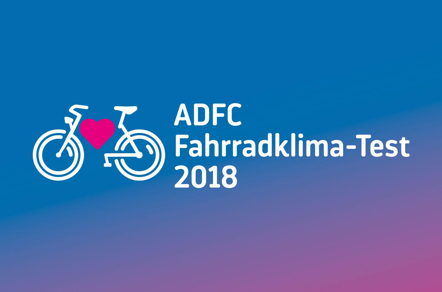 ADFC Fahrradklima-Test 2018