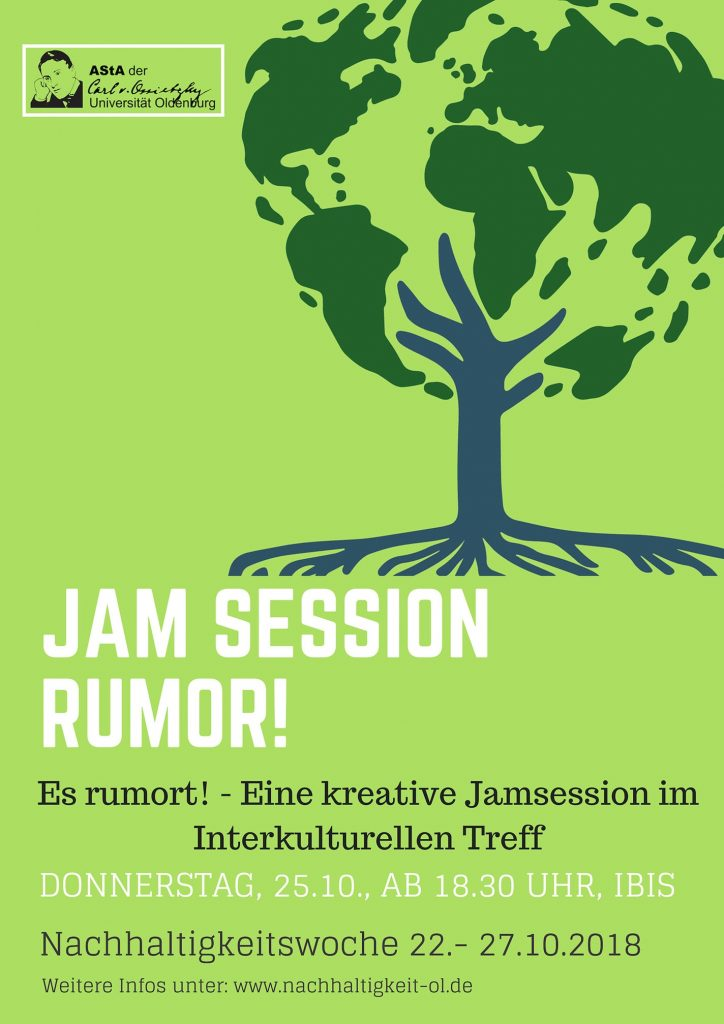 Plakat: Jam Session rumor!