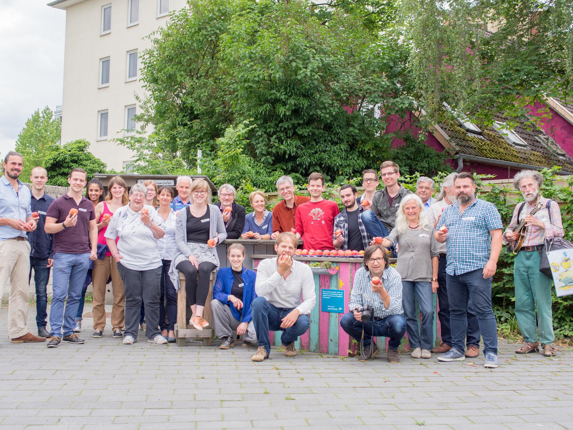 Das Team vom Ernährungsrat Oldenburg.