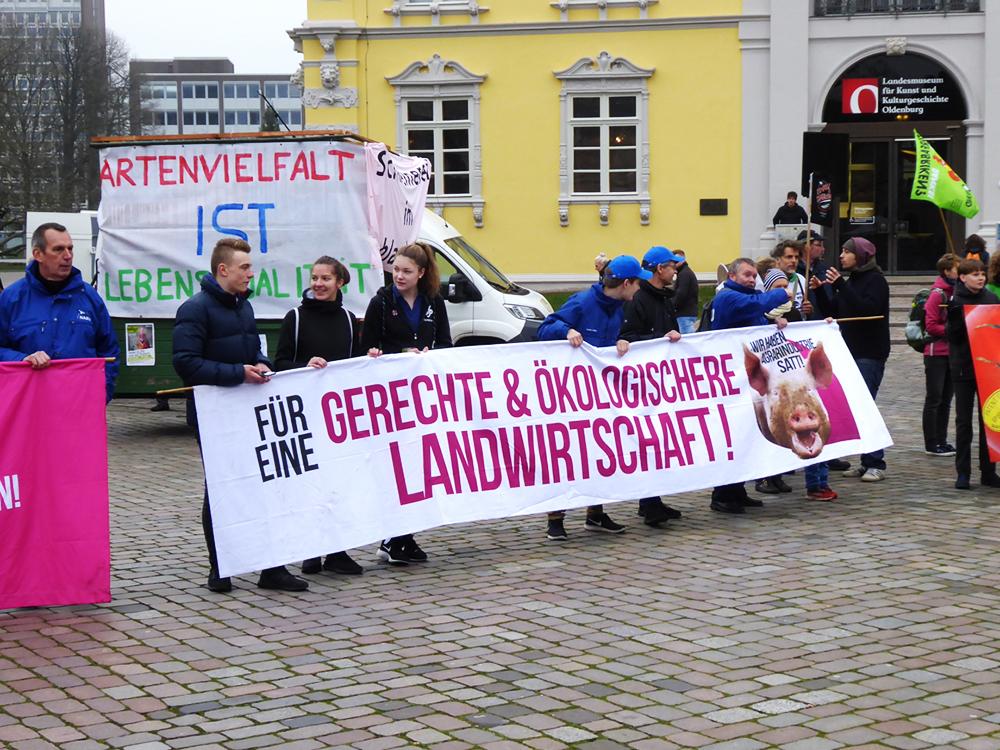 Gerechte und ökologischere Landwirtschaft!