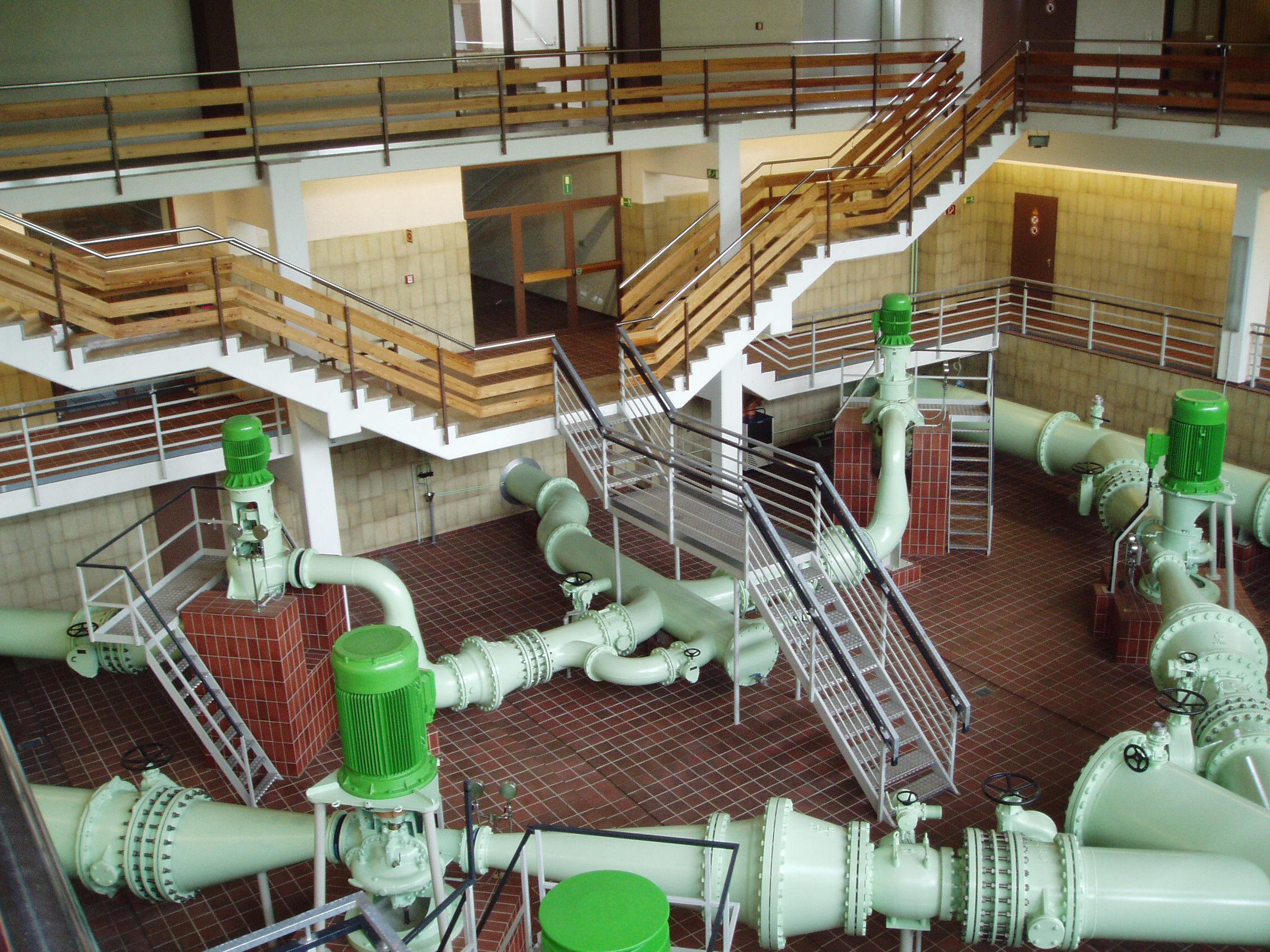 Das Wasserwerk des OOWV in Großenkneten.