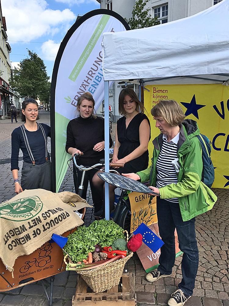 Der Stand des Ernährungsrats Oldenburg.