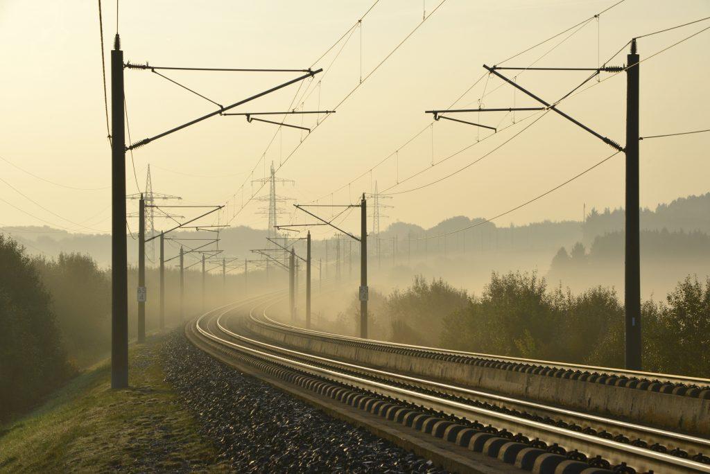 Gleisanlage an der Schnellfahrstrecke Köln–Rhein/Main. Foto: Deutsche Bahn AG / Volker Emersleben.