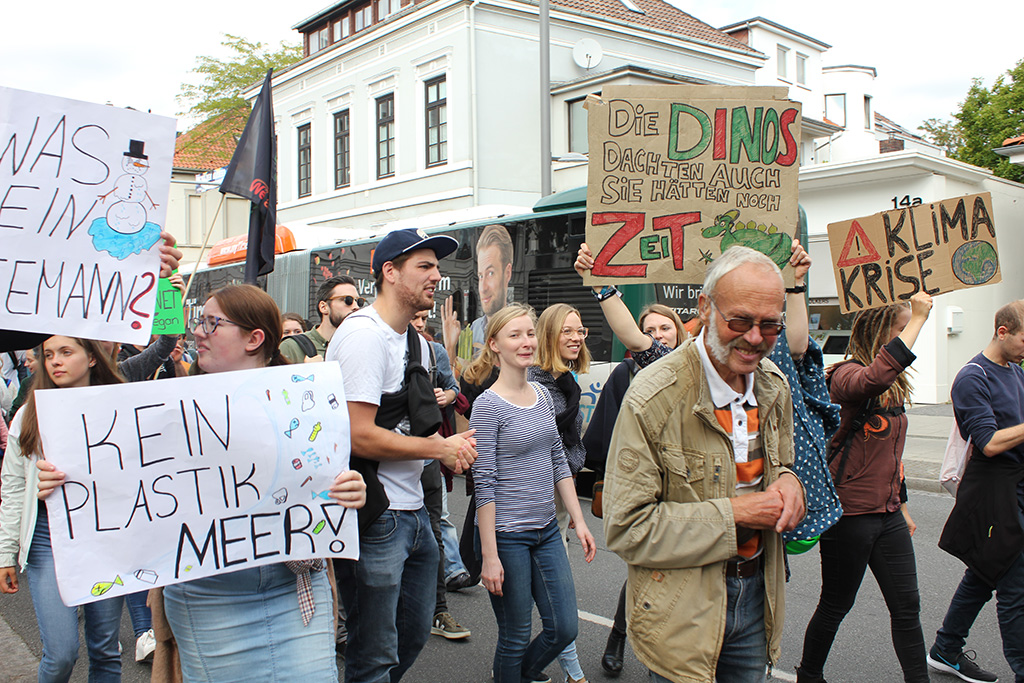 Klimastreik am 20. September.