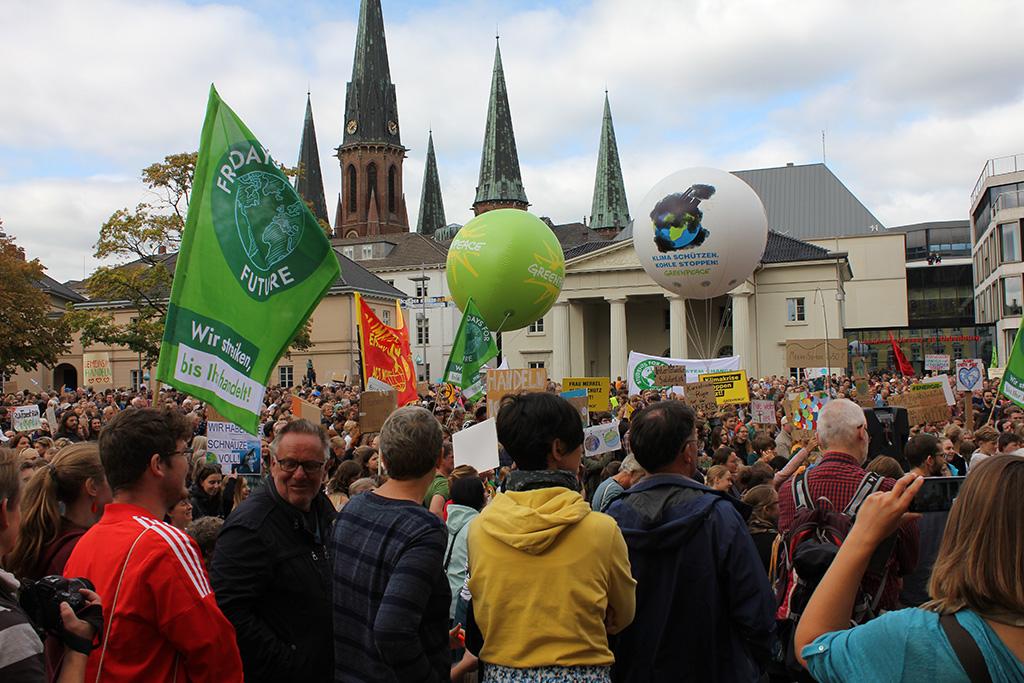 Klimastreik am 20. September.
