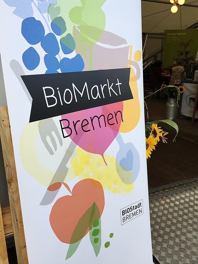 Am 3. und 4. Oktober veranstaltete die BioStadt Bremen den Biomarkt auf Bremens beliebtesten Marktplatz in Findorff. Dabei waren auch einige Aussteller, die Oldenburger*innen gut bekannt sind.