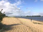 Sandstrand an der Weser 2021